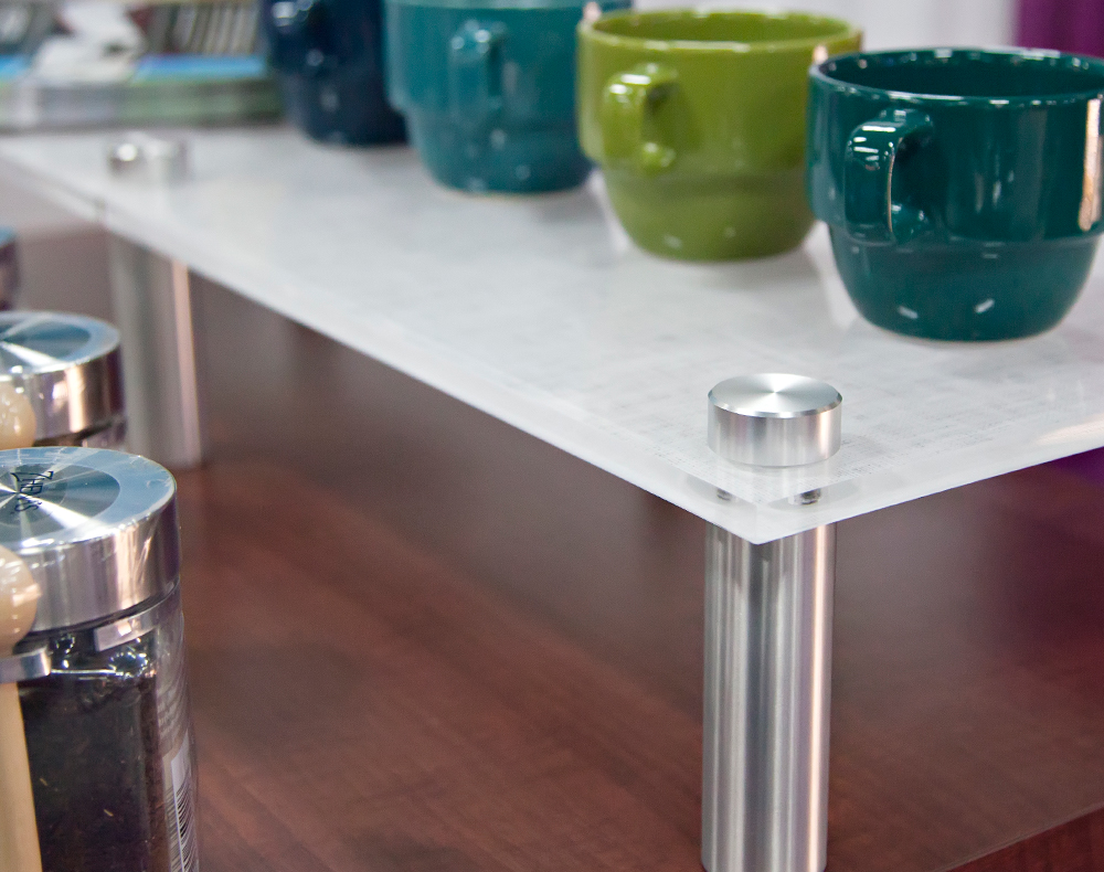Multi-level Kitchen Island Counter