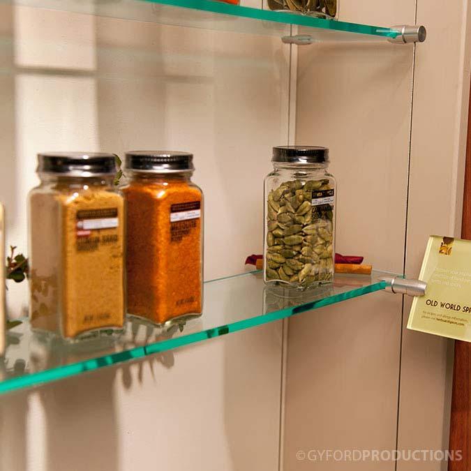 Spices Shelf Display