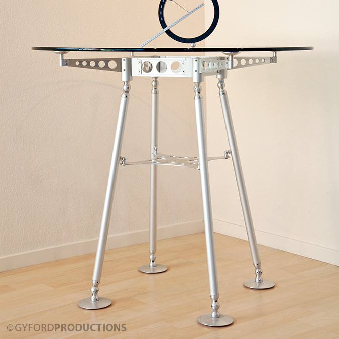 Tall Glass StructureLite Table