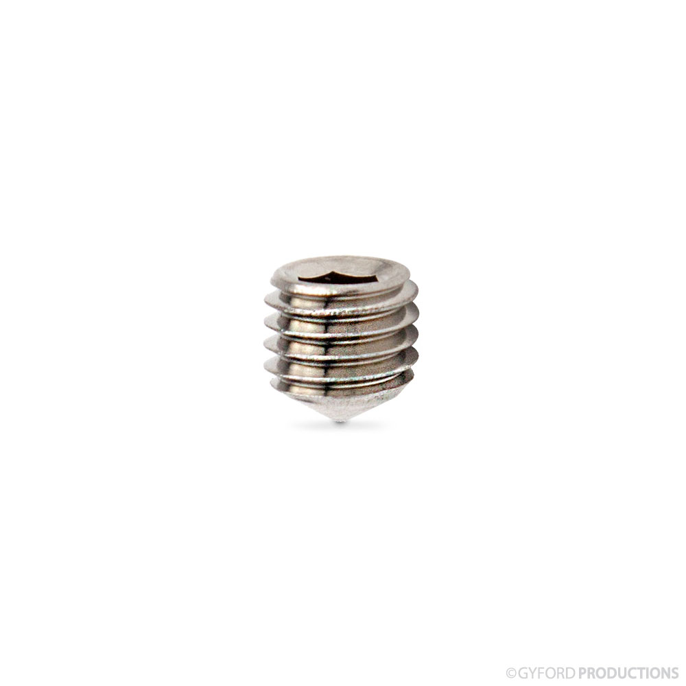 1/4-28 Cone Point Socket Set Screw
