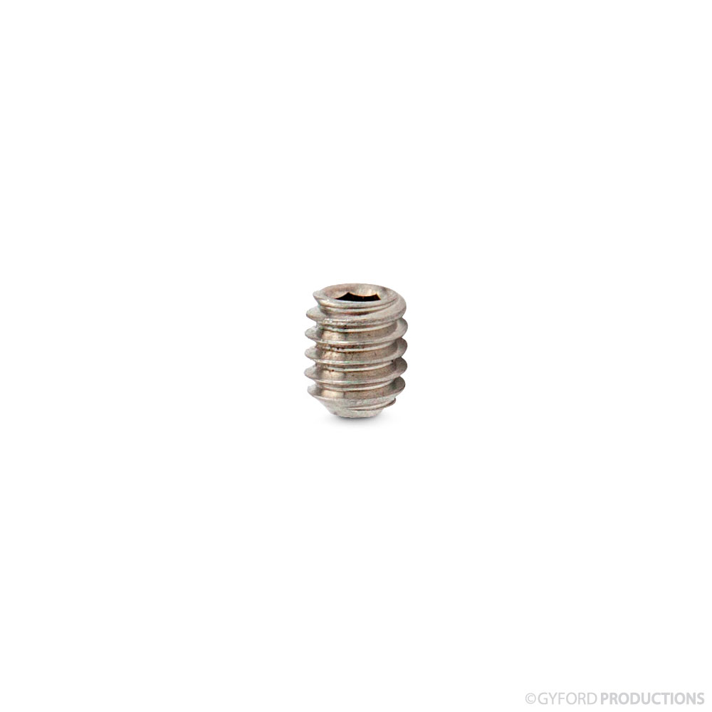 8-32 Flat Point Socket Set Screw