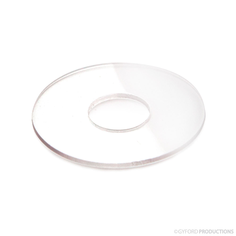7/8″ Diameter Clear Vinyl Washer