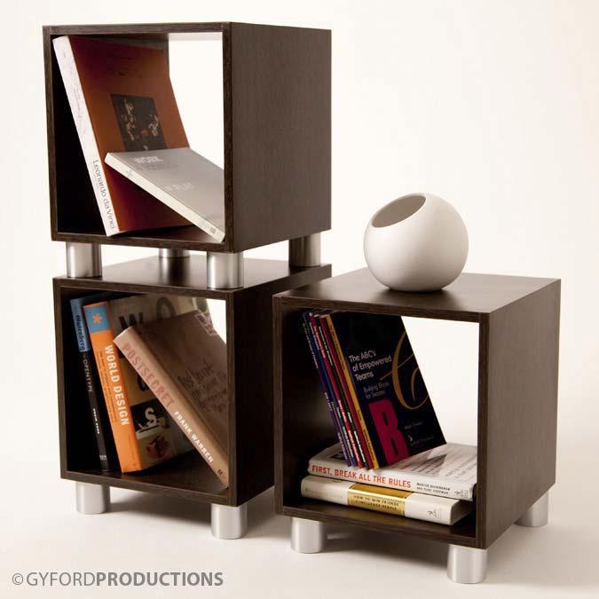 StandOff Barrel Bookshelf