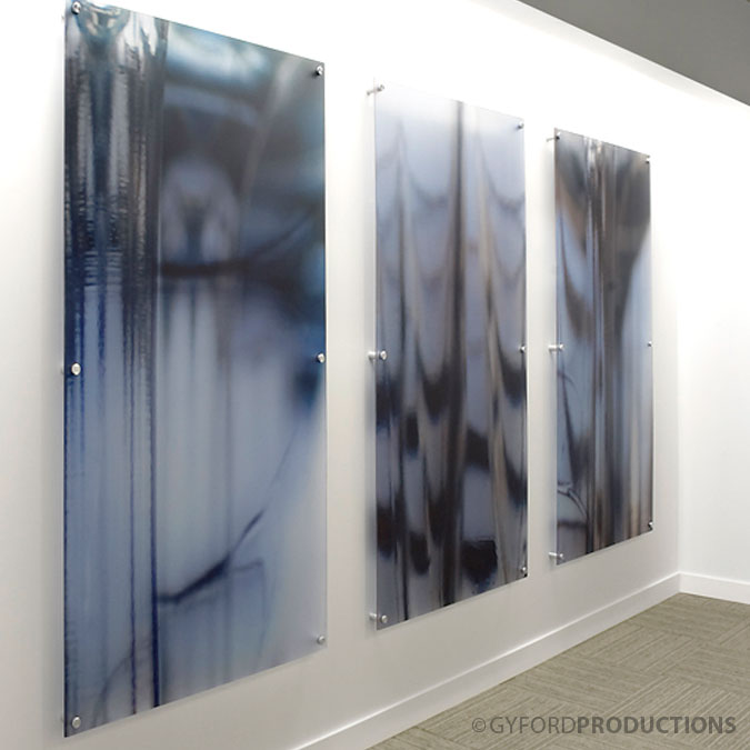 StandOff Glass Mount Acrylic Hardware