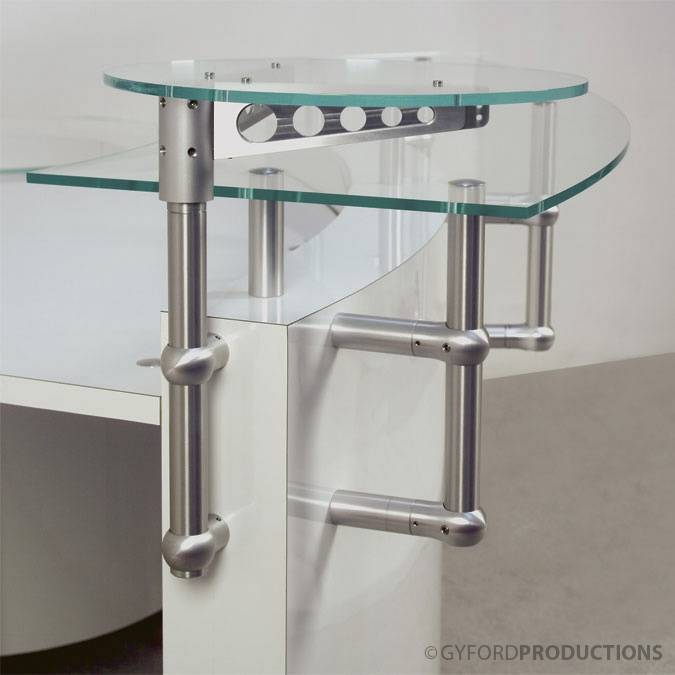 StructureLite Glass Counter