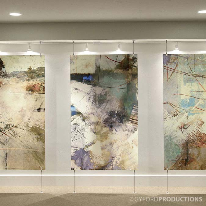 Suspended Art Panels