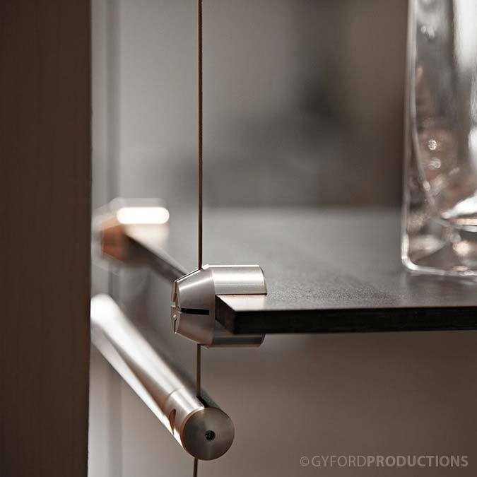 Wire Suspended Shelf Clip