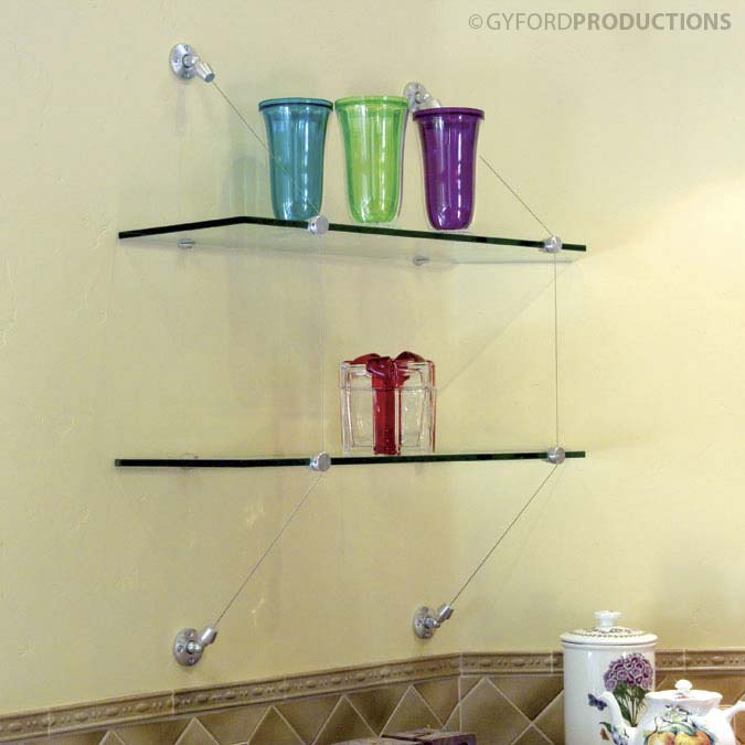 Wire Suspended Shelf