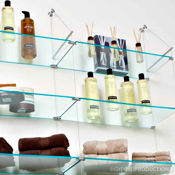 Shelving & Displays Application Example