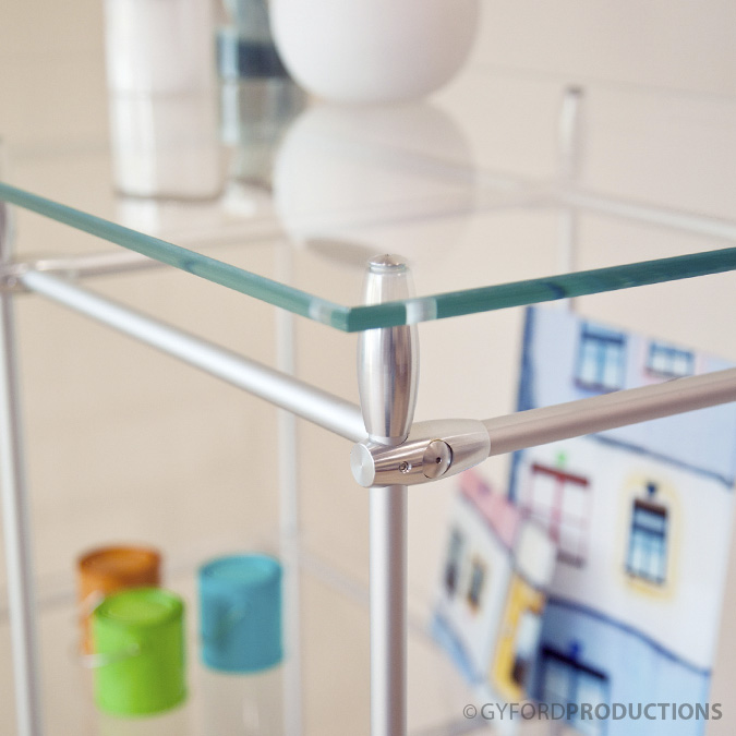 EZ Rod Bookcase Shelf
