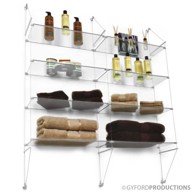 Salon Shelf display