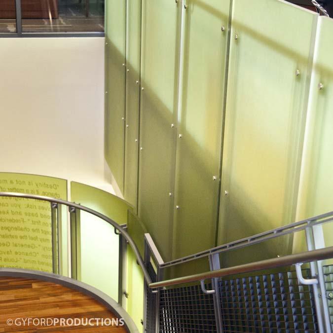 Decorative StandOff Stairs