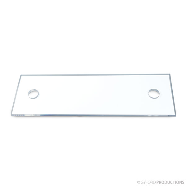 LED Demo Blank Plexiglass Replacement Panel