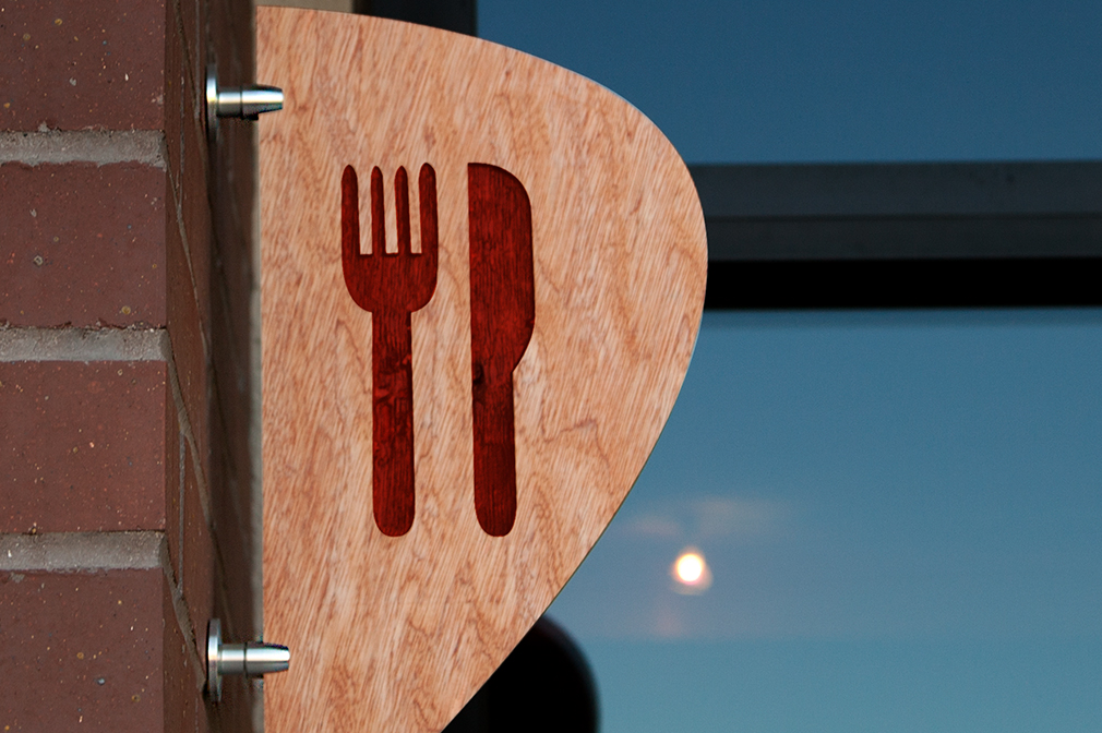 Fork Knife Sign