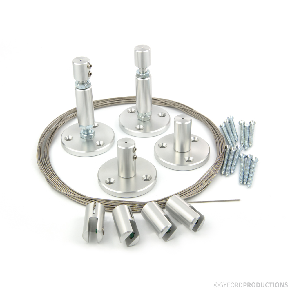 WS Floor to Ceiling Wire Suspension Kit