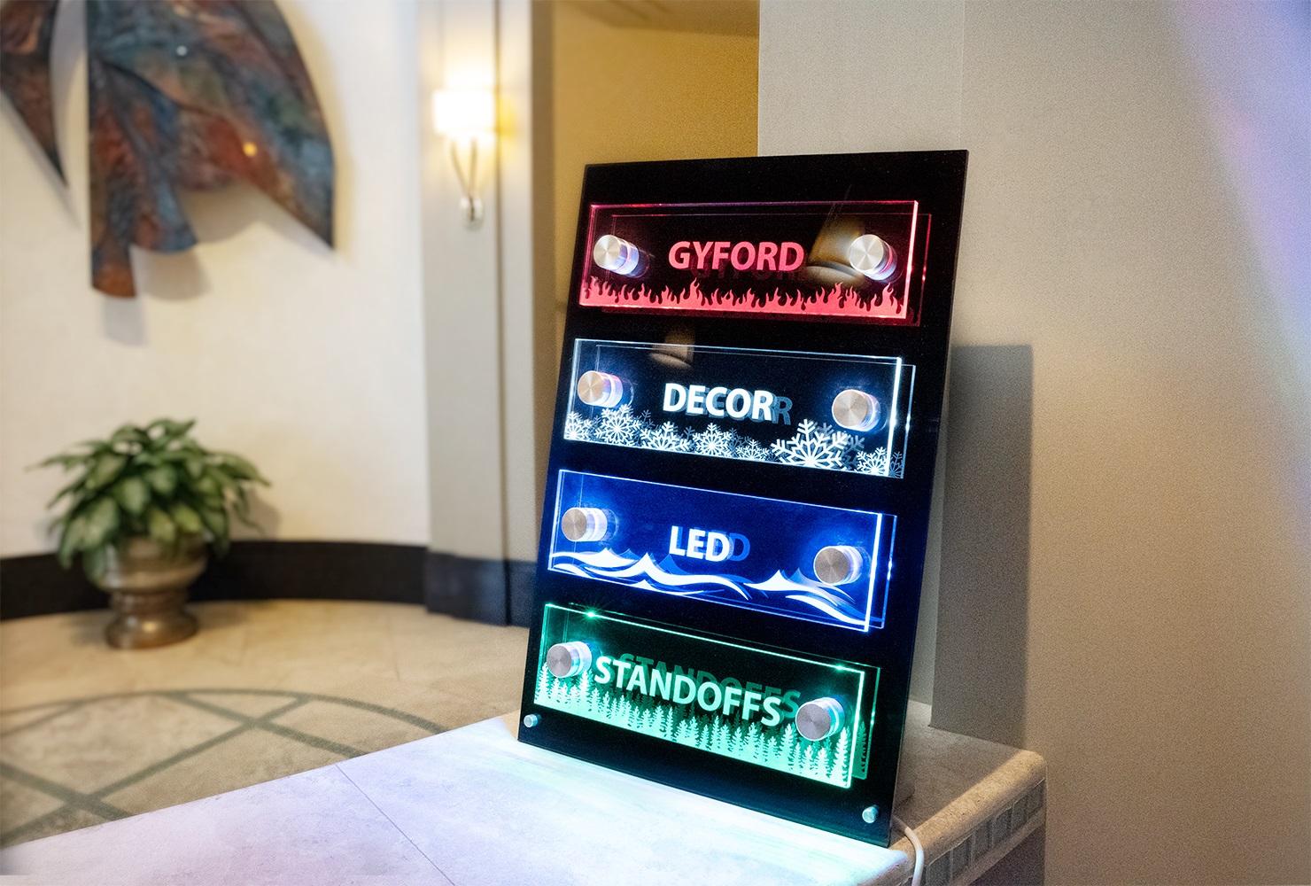 LED Tabletop Demo Display