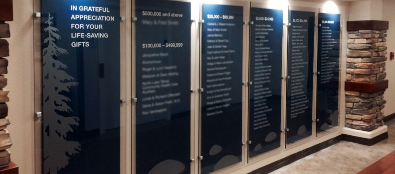 Recognition Walls Are On The Rise-Featured photo by FASTSIGNS Reno/Carson City